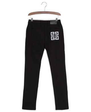 4G logo embroidered jeans spirit leggings GIVENCHY