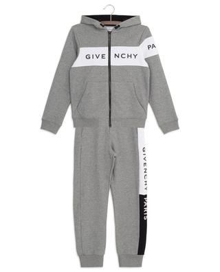 Bicolour track suit with logo print GIVENCHY