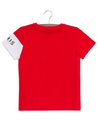 T-shirt à manches courtes Logo Colorblock GIVENCHY