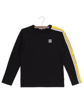 4G Logo T-shirt with long raglan sleeves GIVENCHY