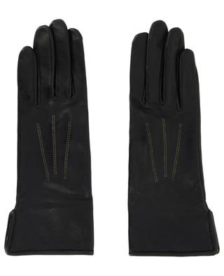 Fanny leather gloves AGNELLE