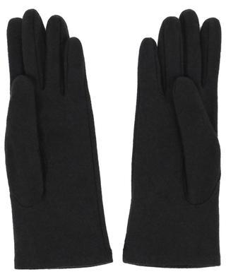 Handschuhe aus Kaschmir und Lammleder Chouette AGNELLE