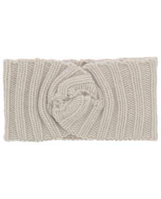 Chloe rib knit cashmere headband WARM ME