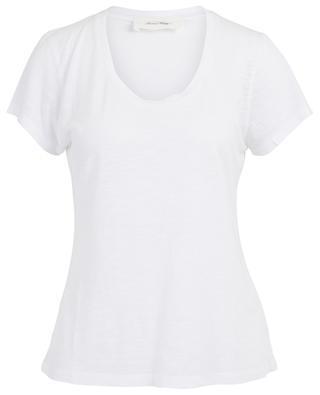 T-shirt à col en U Jacksonville AMERICAN VINTAGE