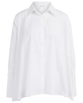 Seto A-line cotton shirt HANA SAN