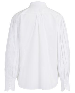 Hemd aus Baumwolle mit Falten-Ärmeln Risuki HANA SAN