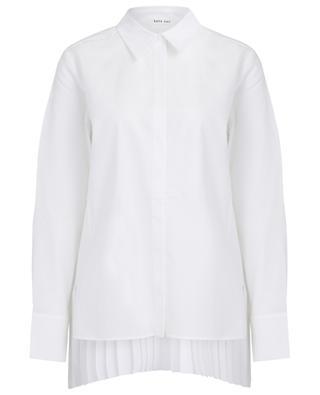 Hemd mit Baumwollpiqué und plissiertem Rücken Maguro HANA SAN