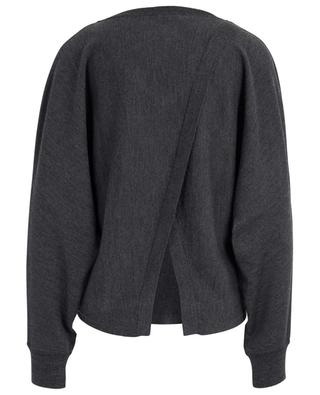 Pullover aus Merinowolle mit V-Ausschnitt Anago HANA SAN