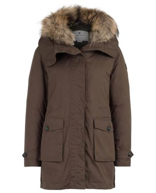 W's Scarlett hooded fur trimmed 3-in-1 parka WOOLRICH