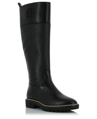 Stiefel aus Glatt- und Walkleder Miller 30 TORY BURCH