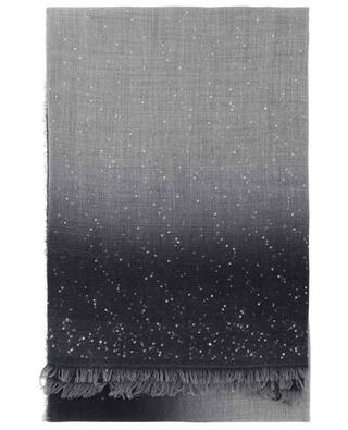 Maly woven sequin embroidered scarf FALIERO SARTI
