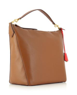 Perry large grained leather hobo bag TORY BURCH
