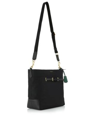 Perry nylon and leather bucket bag TORY BURCH