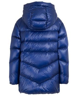 Packable Birch wide hooded down jacket WOOLRICH