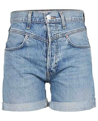 Double Yoke denim shorts with turn-ups RE/DONE