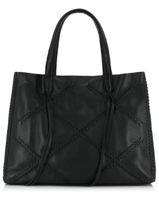 Perissa grained leather tote bag CALLISTA