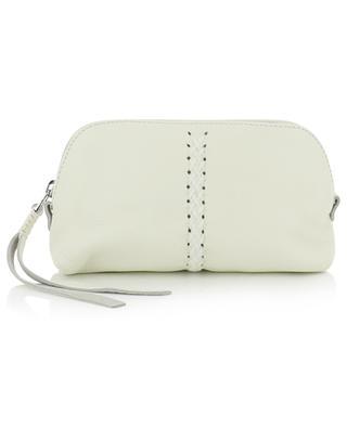 Iconic Vanity Jasmin grained leather small vanity case CALLISTA