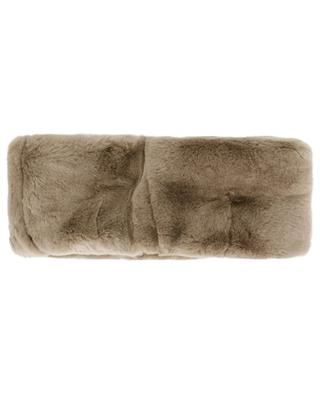 Fur and knit snood LEA CLEMENT