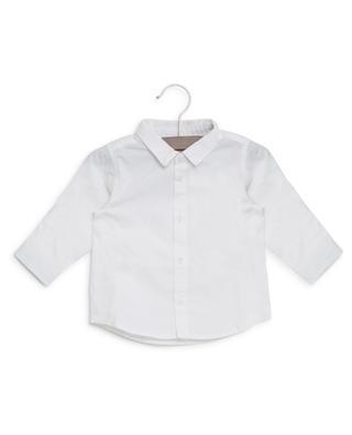 Embroidered cotton shirt PETIT BATEAU