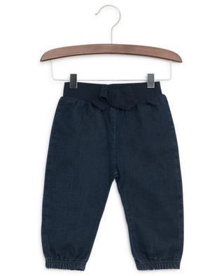 Jeans with bow PETIT BATEAU