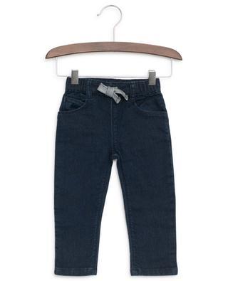 Jeans avec cordon rayé PETIT BATEAU