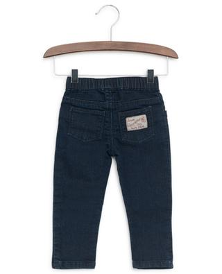 Jeans with striped drawstring PETIT BATEAU
