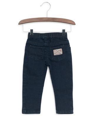 Jeans with striped drawstring PETIT BATEAU