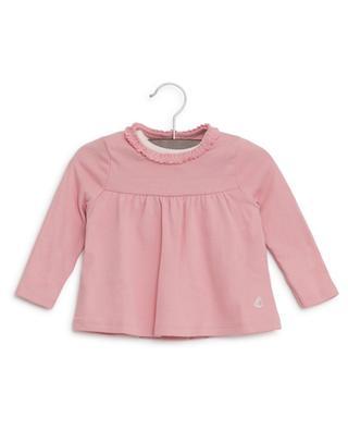 Glitter-T-Shirt und A-förmiges Top PETIT BATEAU