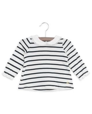 Long-sleeved cotton Breton T-shirt PETIT BATEAU