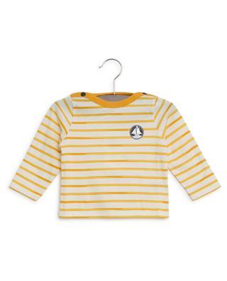 Striped long-sleeved T-shirt PETIT BATEAU