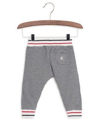 Pantalon en coton rayé PETIT BATEAU