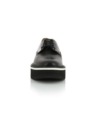 Berlin smooth leather platform derby shoes CLERGERIE