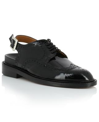 Genius patent leather slingback derby shoes CLERGERIE