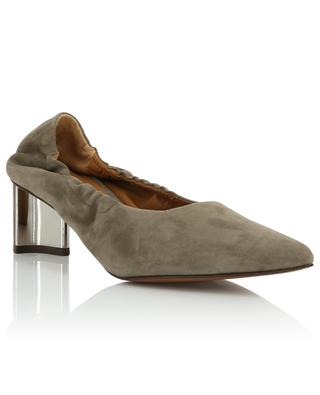 Solal2 suede pumps with block heels CLERGERIE
