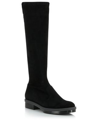 Road flat suede stretch boots CLERGERIE