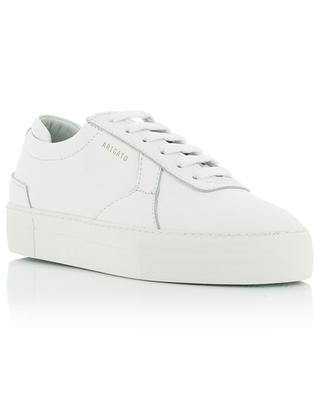 Platform white leather lace-up sneakers AXEL ARIGATO