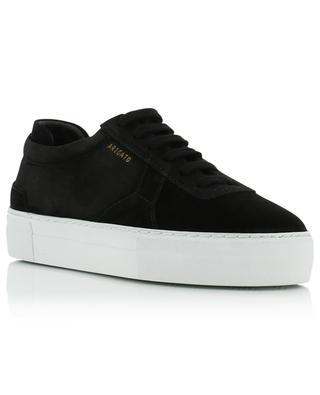 Platform black suede sneakers AXEL ARIGATO