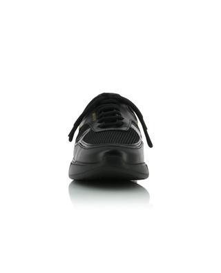 Schwarze Materialmix-Sneakers Genesis AXEL ARIGATO