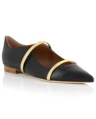Maureen leather ballet flats MALONE SOULIERS