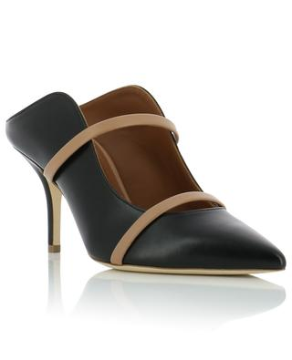 Maureen high-heeled leather mules MALONE SOULIERS