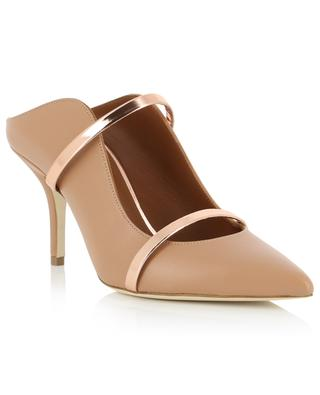 Maureen leather high-heeled mules MALONE SOULIERS