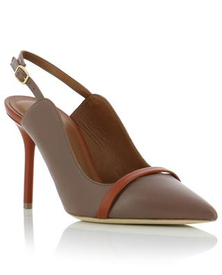 Marion 85 leather slingback pumps MALONE SOULIERS