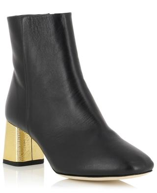 Bottines talon doré Melo REPETTO