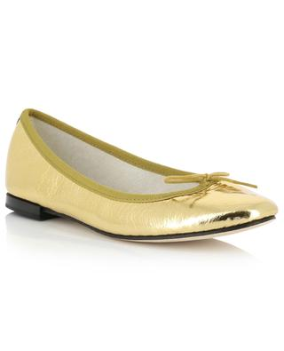 Cendrillon golden leather ballet flats REPETTO