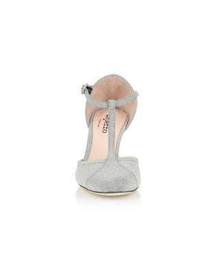 Baya glitter leather T-Strap shoes REPETTO