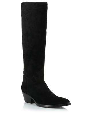 Pointed suede boots with flaming SARTORE
