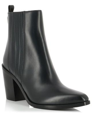 Noce heeled smooth leather ankle boots SARTORE