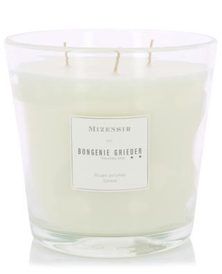 Grande bougie parfumée Bois d'Agar - 1500 g MIZENSIR