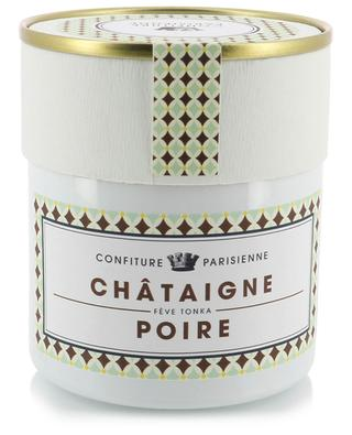 Confiture Châtaigne, Poire, Fève Tonka CONFITURE PARISIENNE