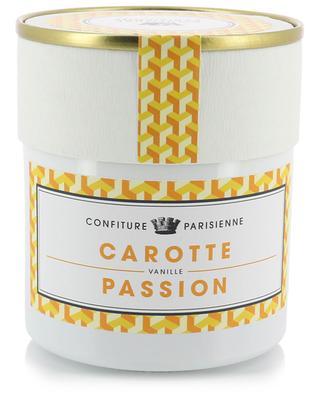 Confiture Carotte, Passion, Vanille CONFITURE PARISIENNE